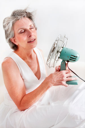 hormone replacement therapy-hot-flushes menopause treatment