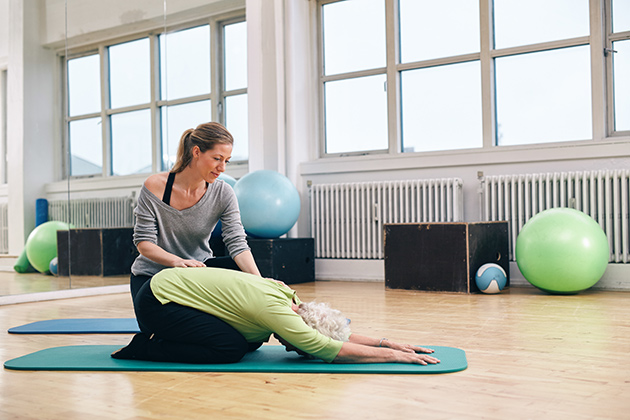 menopausecentre - How Yoga Can Help You Through Menopause (2)
