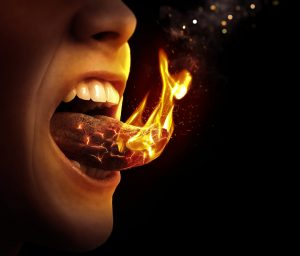 burning tongue menopause